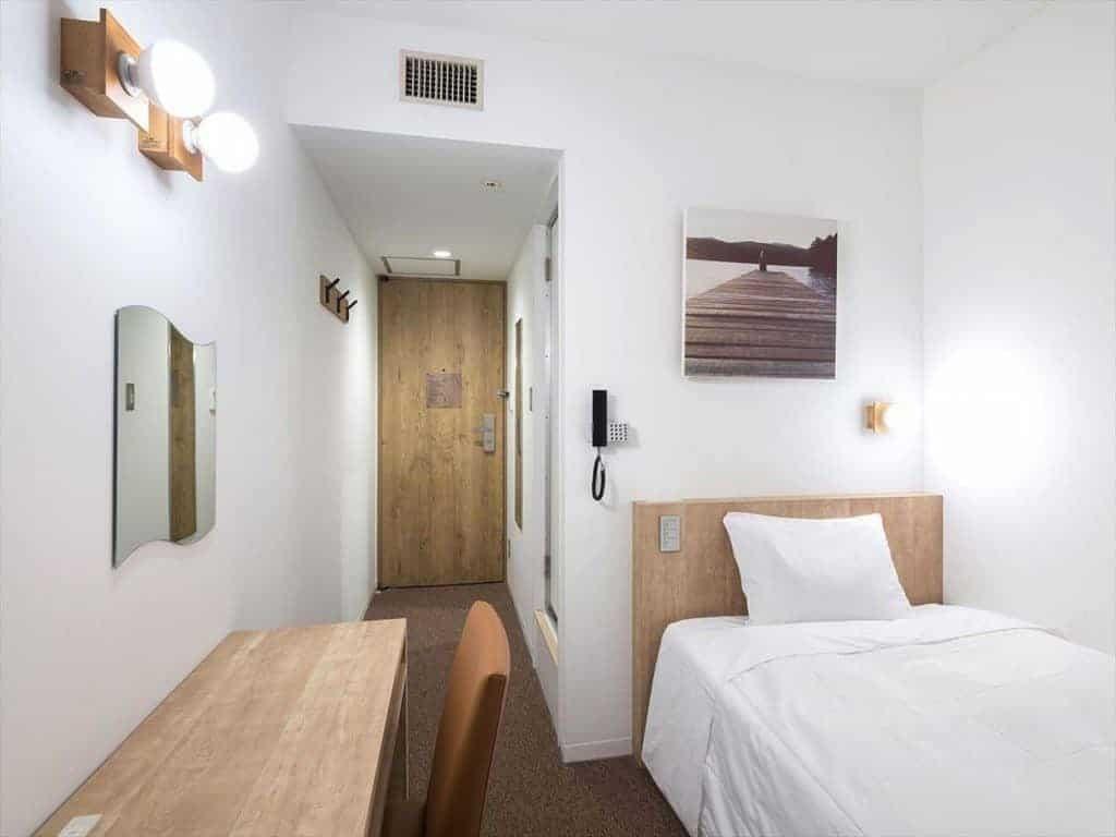 dormire in un hotel in giappone